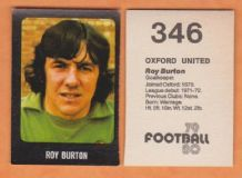 Oxford United Roy Burton